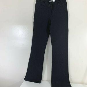 Betabrand  Dress Yoga Pants Long Inseam Gray